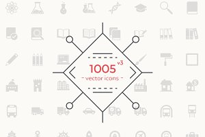 1005 Vector Icons
