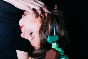 portrait origami crown