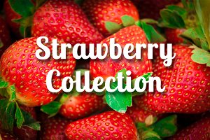 25 Strawberry Photos Bundle