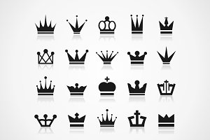 Crown an icon