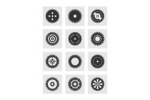 Gear wheel an icon