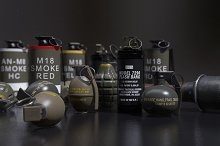 Assorted Grenade Pack 01 by  in Weapons