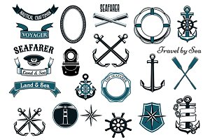 Nautical and marine design elements