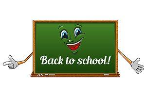 Happy classroom blackboard