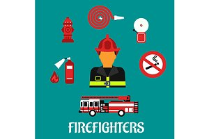Firefighter and fireman profession