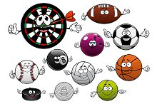 Sport balls and items