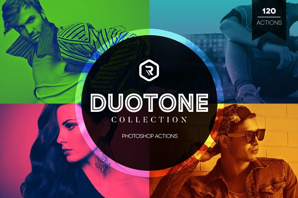 Duotone Collection Photoshop Action…