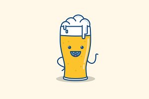 Vector illustration beer