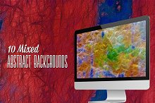 10 Mixed Abstract Backgrounds