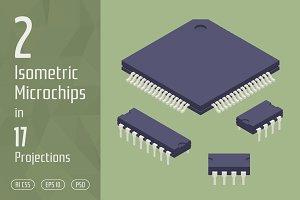 2 Isometric Microchips