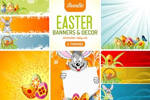 Easter Banners & Decor