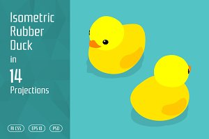 Isometric Rubber Duck