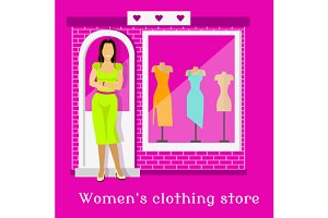 Woman Clothing Urban Store Design