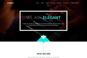 Cosmic - Simple Responsive Template