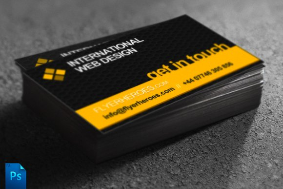 Business Card Template Web Designer Business Card Templates - Web design business cards templates