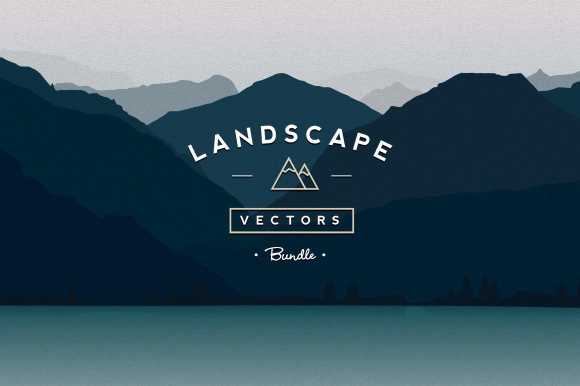 Vector Landscapes Bundle Illustrations Creative Market