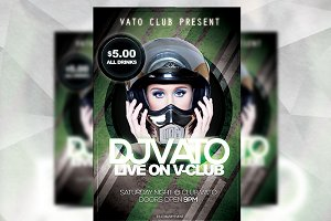 Grunge Club - Flyer Template