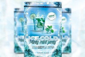 Minty Mint - Flyer Template