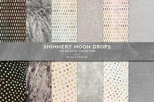 Shimmery Moondrops & Iridescent Foil