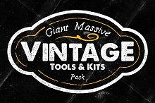 Giant Massive Vintage Tools & Kits