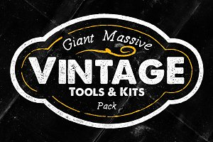 Giant Massive Vintage Tools & Kits