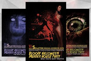 Splatter Horror - Flyer Template