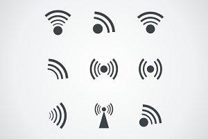 Signal an icon
