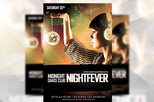Night Sensation - Flyer Template