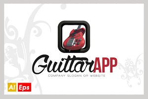 Guitar App Vector Logo