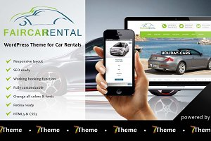 Faircar - WordPress Car Rental Theme