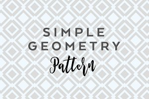 Simple geometry pattern vector + jpg