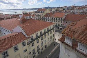 Lisbon, Portugal Rooftops