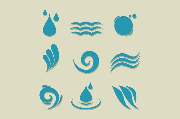 Water an icon in Icons