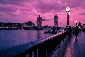 Beautiful London Sunset