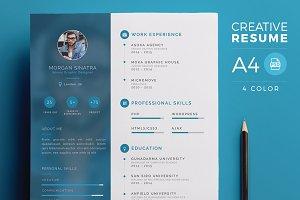 Creative Resume - CV