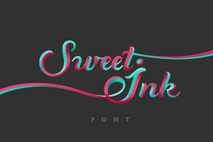 Sweet Ink Font Calligraphy