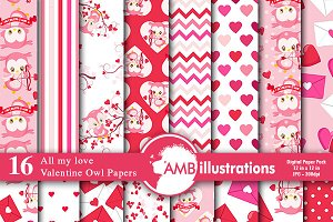 Valentines Day Papers AMB-1181