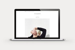 Accendo - Minimalist WordPress Theme
