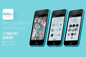 Foto.lio - Photograpers App Design