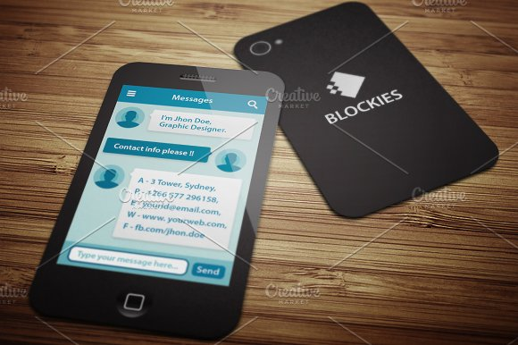 Smart Phone Business Card V.1