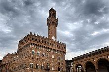 Palazzo Vecchio, Florence, Italy.