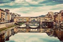 Ponte Vecchio bridge, Florence.