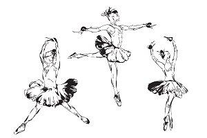 Ballerina or Dancer Girl