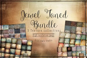Jewel Tone Texture Bundle