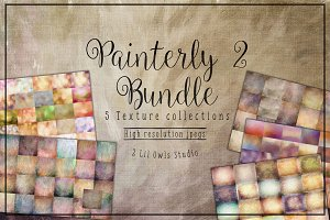 Painterly 2 Texture Bundle