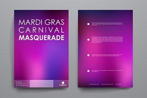 Mardi Gras Brochures