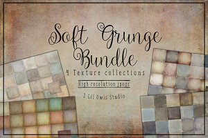 Soft Grunge Texture Bundle