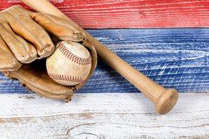 Old Baseball stuff on USA Colors