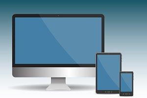 Responsive web design devices