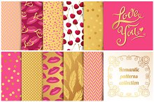 Romantic Patterns Collection